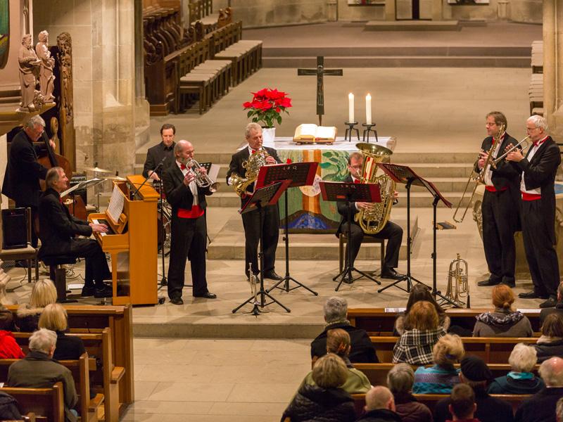 Uli Gutscher Trio und das Ludwigsburger Blechblaser Quintett